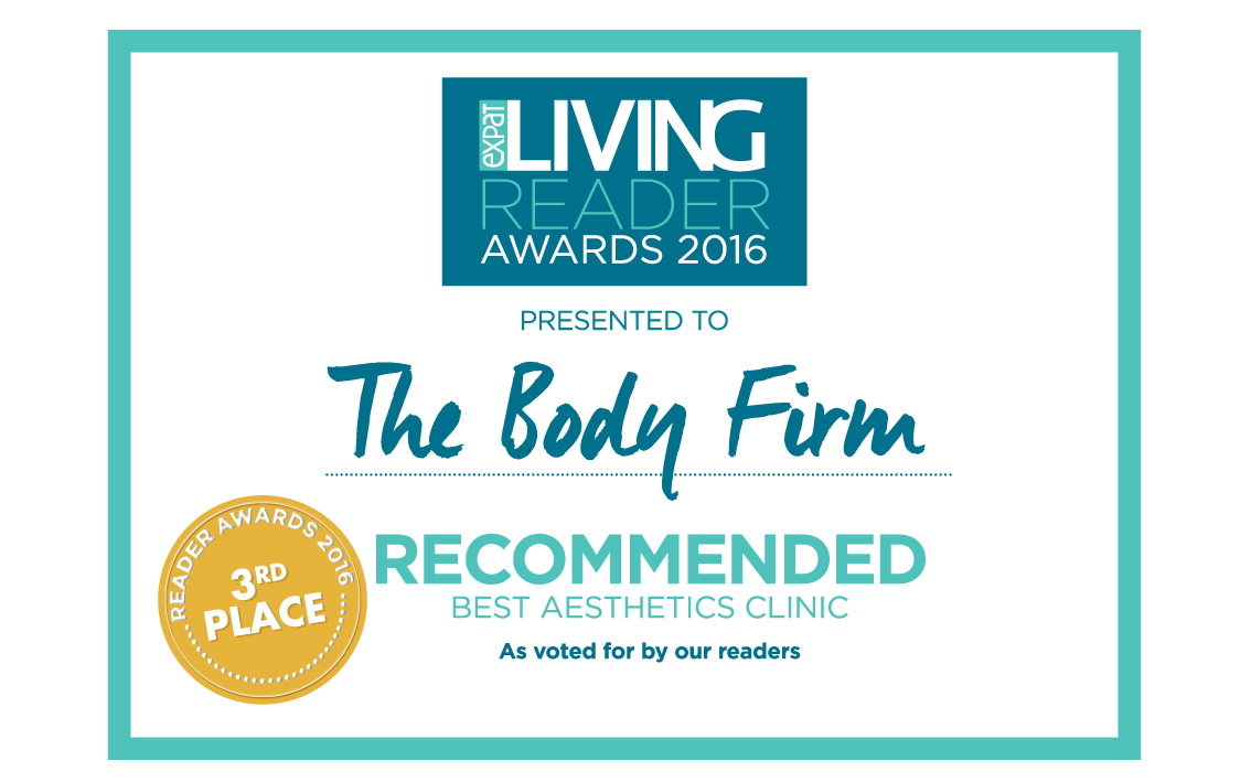 The Body Firm Recommended Best Aesthetics Clinic 2016 Expat Living
