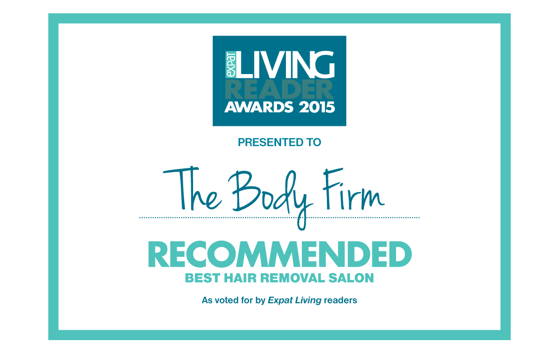 The Body Firm Recommended Best Hair Removal Salon 2015 Expat Living