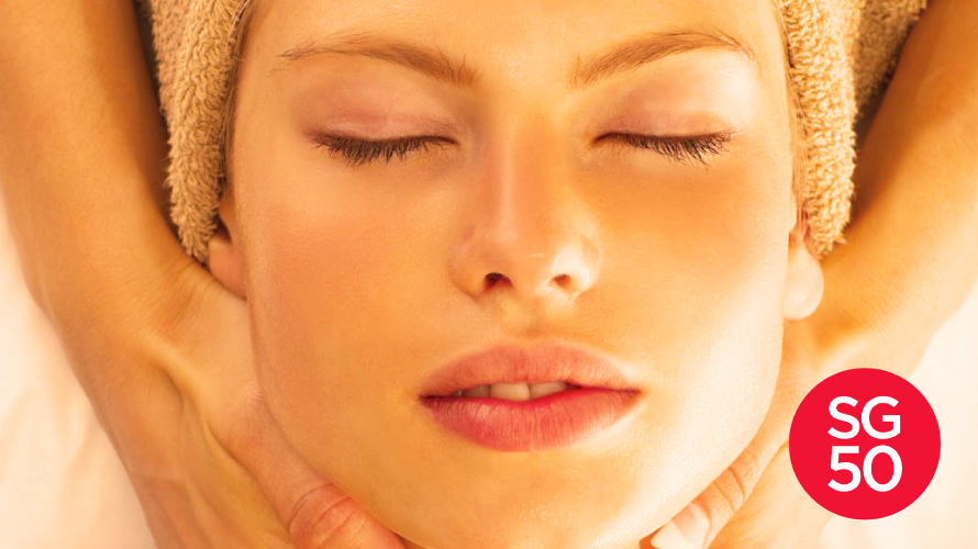 The Body Firm Boutique Beauty Spa Singapore SG50 Free Eye Treatment Promo