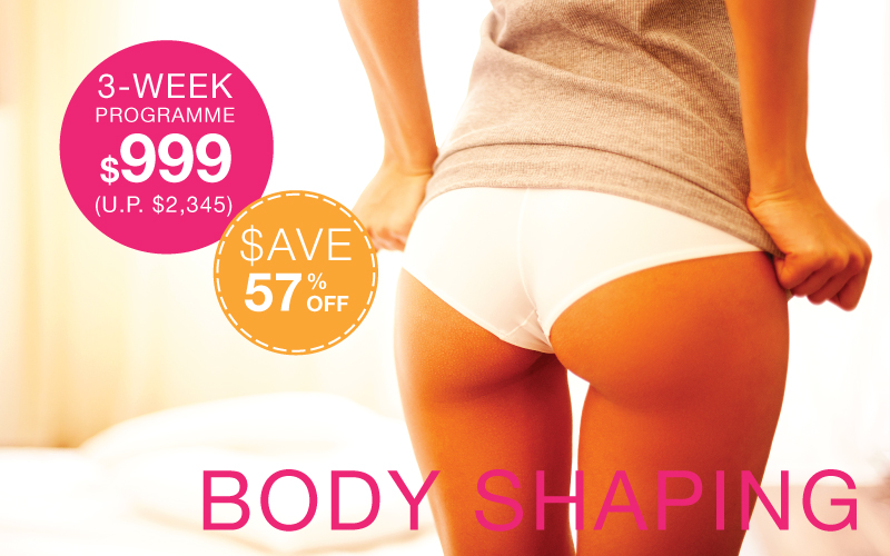 3-week body shaping system The Body Firm Singapore