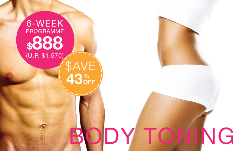 Ultimate body toning system The Body Firm Singapore